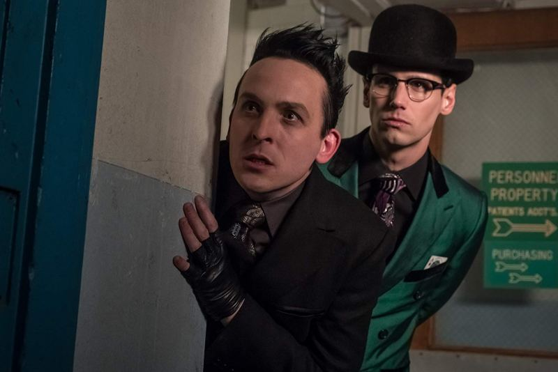gotham - i am bane review - penguin and riddler