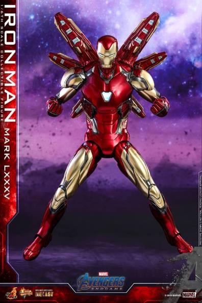 hot toys avengers endgame iron man mark LXXXV figure -mega blast