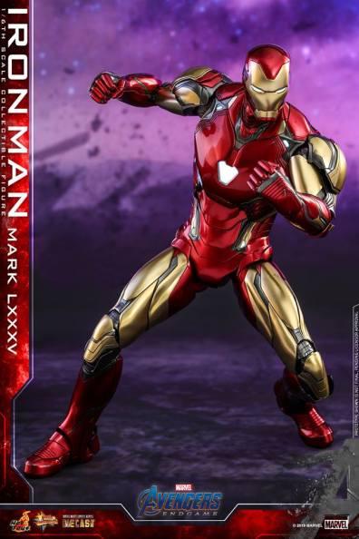 hot toys avengers endgame iron man mark LXXXV figure -ready for fight