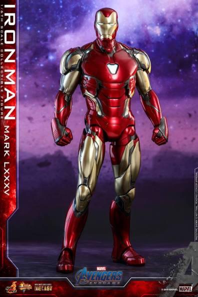 hot toys avengers endgame iron man mark LXXXV figure -straight ahead
