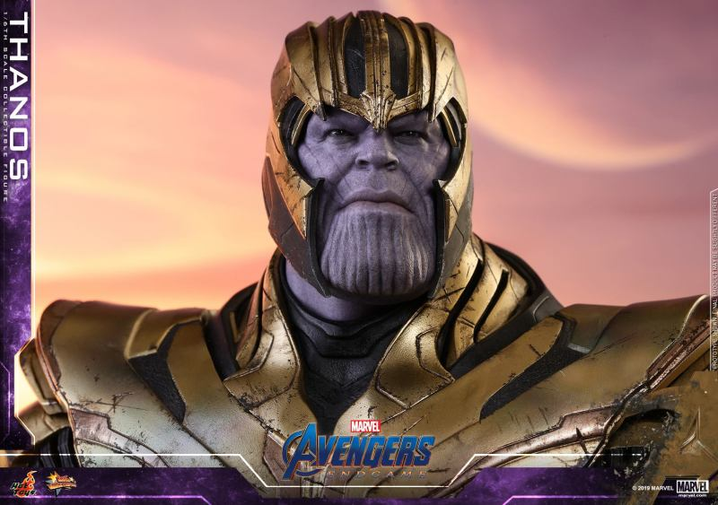 hot toys avengers engame thanos figure -calm face
