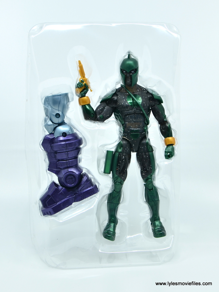 marvel legends genis-vell figure review - accessories