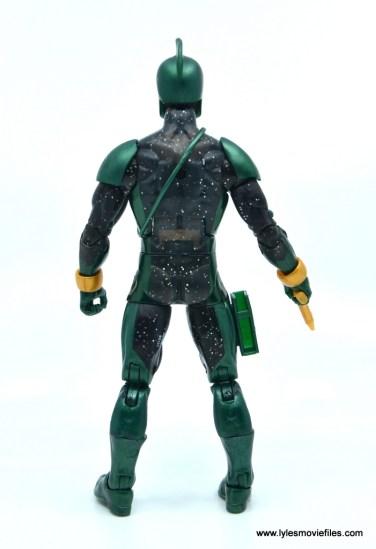 marvel legends genis-vell figure review - rear