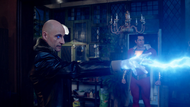 shazam movie review -sivana and shazam