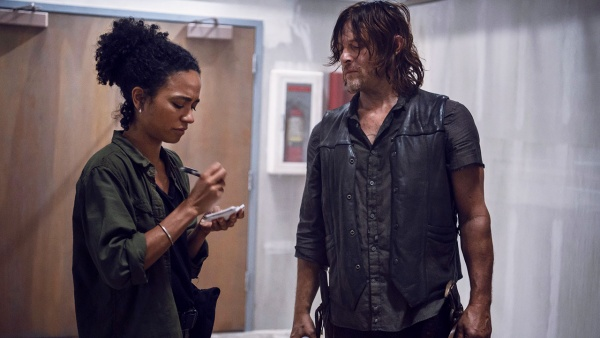 the walking dead - connie and daryl