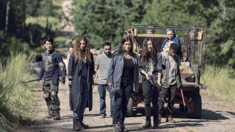 the walking dead - tara and crew