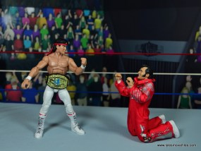 wwe elite flashback ricky steamboat figure review - honky t