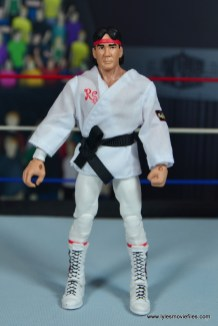 wwe elite flashback ricky steamboat figure review - robe front