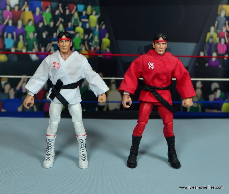 wwe elite flashback ricky steamboat figure review - with legends ricky steamboat