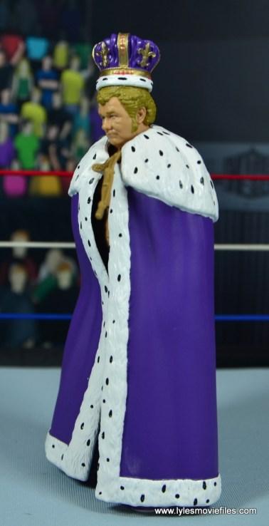 wwe elite king harley race figure review - cloak left side