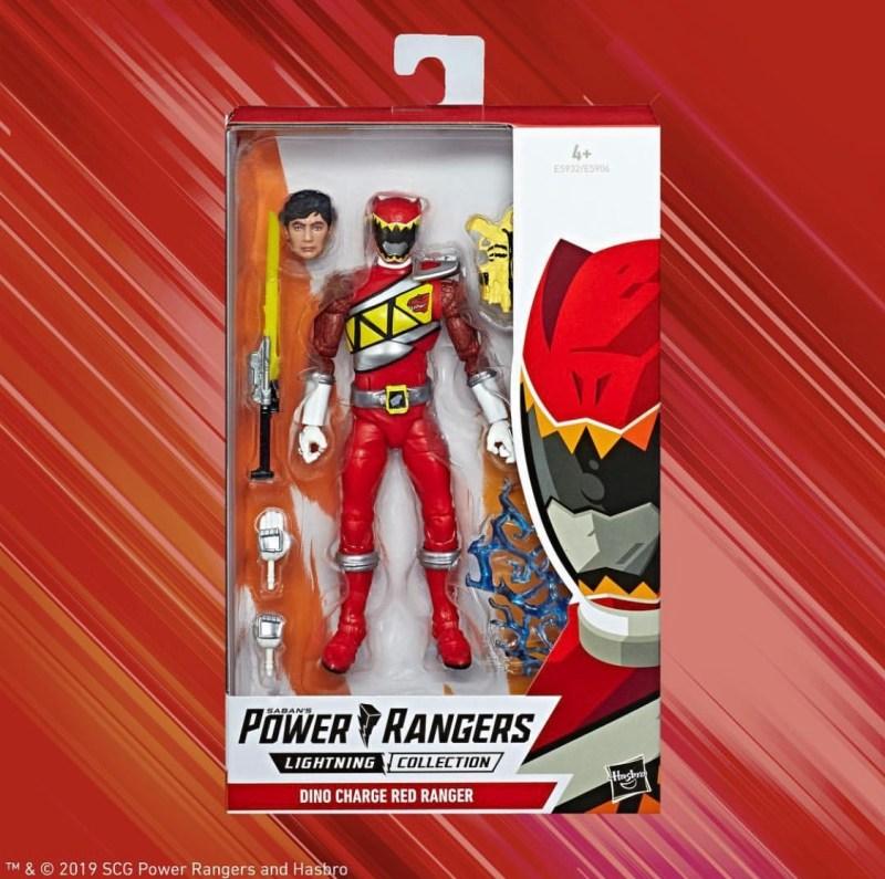 Hasbro power Rangers Lightning collection Red Ranger