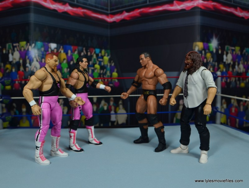 1. Fatal 4 - Hart Foundation vs Rock n Sock Connection