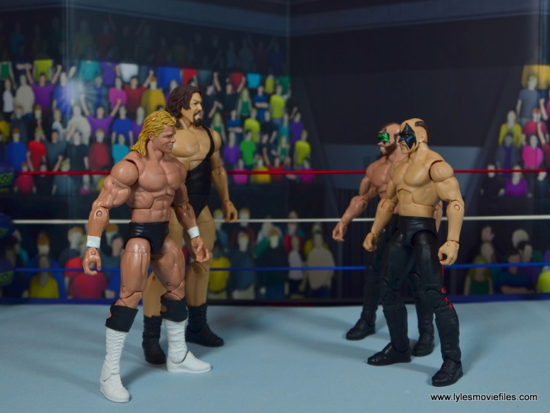 1. Lex Luger and The Giant vs Road Warriors