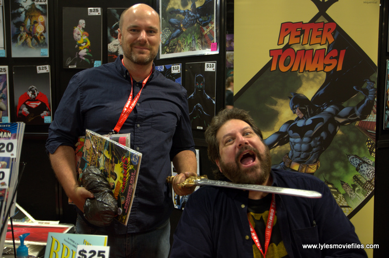 Awesome Con 2019 - Tom King and Peter J. Tomasi