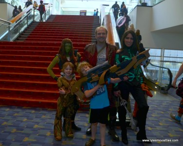 Awesome Con 2019 -guardians of the galaxy and hela family