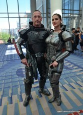Awesome Con 2019 -mass effect col shepherds