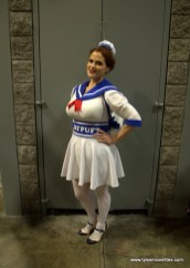 Awesome Con 2019 - stay-puft marshmallow woman