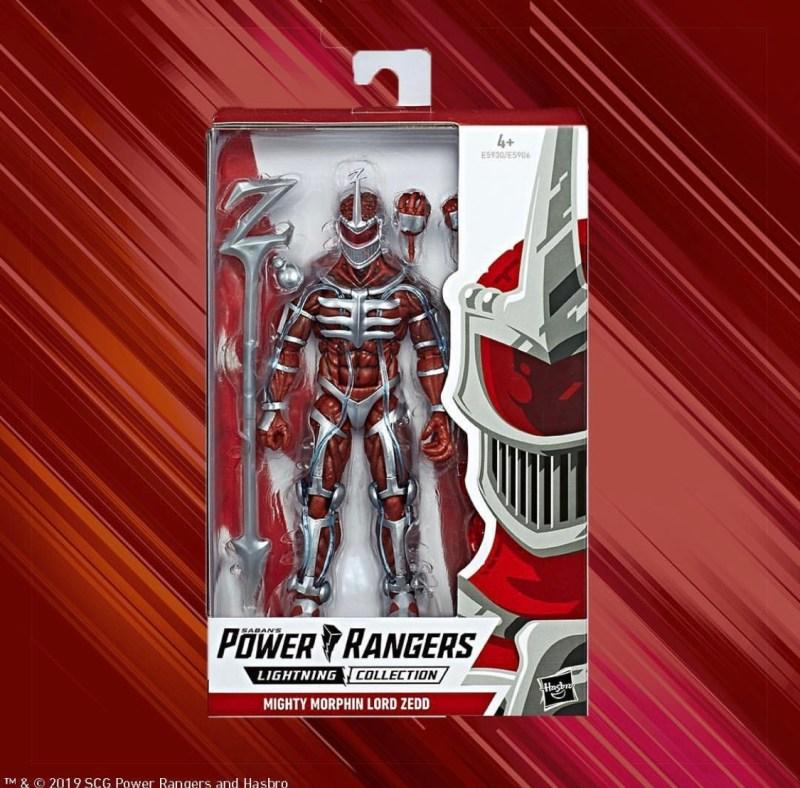 Hasbro power Rangers Lightning collection Lord zedd