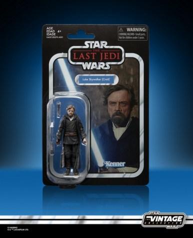 STAR WARS THE VINTAGE COLLECTION 3.75-INCH Figure Assortment - Luke Skywalker (Crait) in pck 1