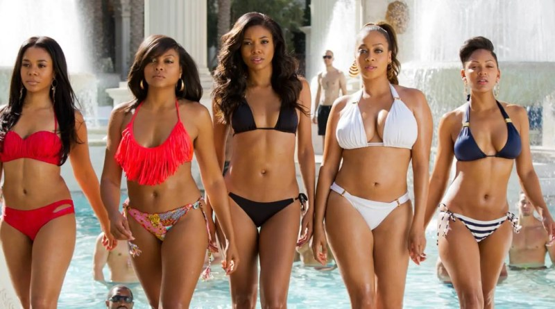 Think Like a Man Too - Regina Hall, Taraji P Henson, Gabrielle Union, La La Anthony and Megan Good bikinis