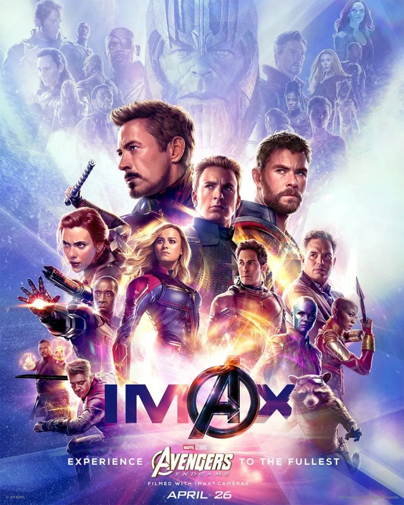 avengers endgame imax exclusive poster
