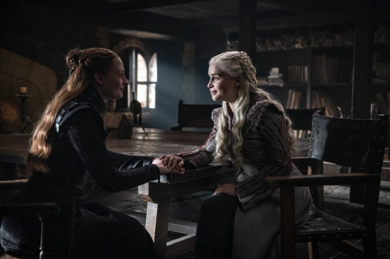 game of thrones - a knight of the seven kingdoms review -sansa and daenerys