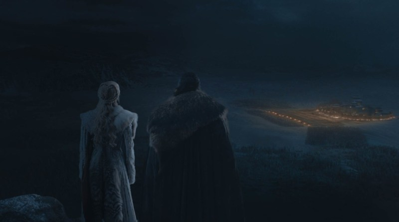 game of thrones the long night review - daenerys and jon