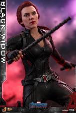 hot toys avengers endgame black widow figure - ready for battle