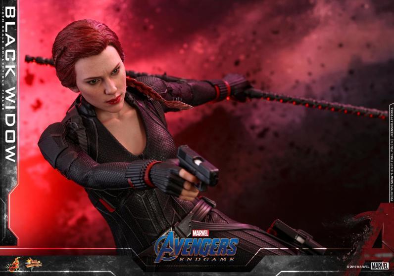 hot toys avengers endgame black widow figure - wide shot