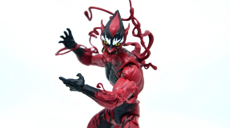 marvel legends red goblin figure review - main pic