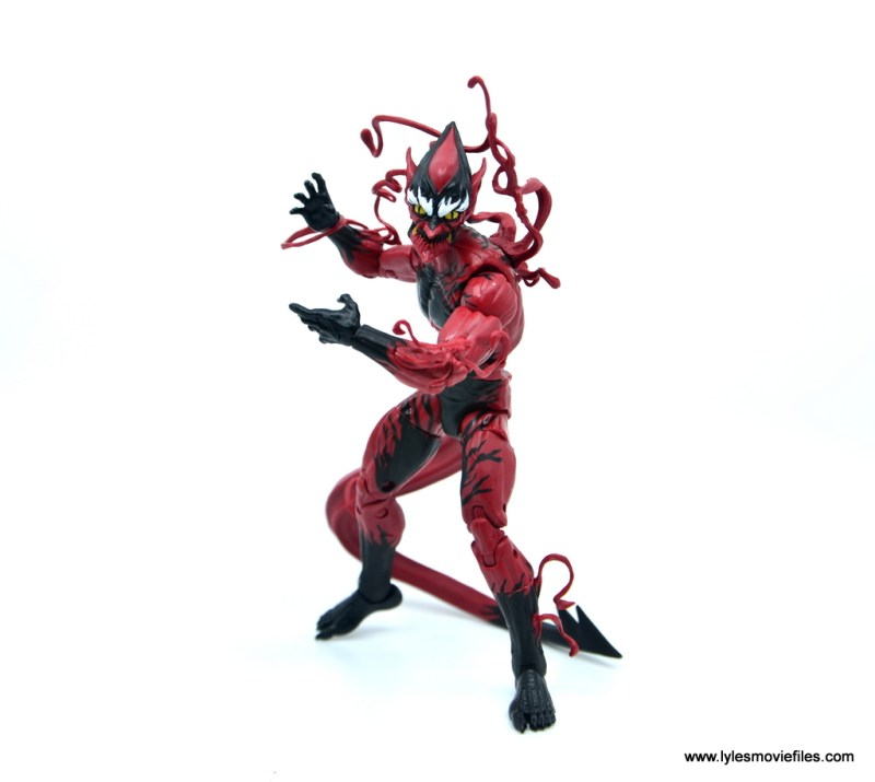 marvel legends red goblin figure review - stalking