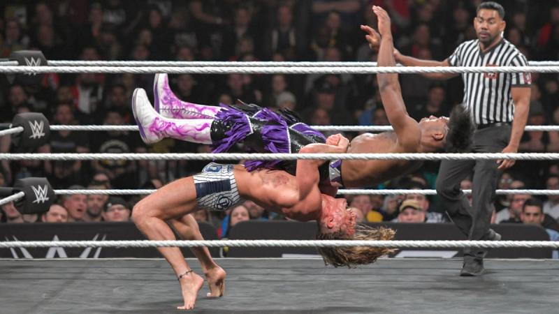 wwe nxt takeover new york 2019 - matt riddle vs velveteen dream