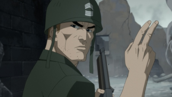 dc showcase sgt rock animated short