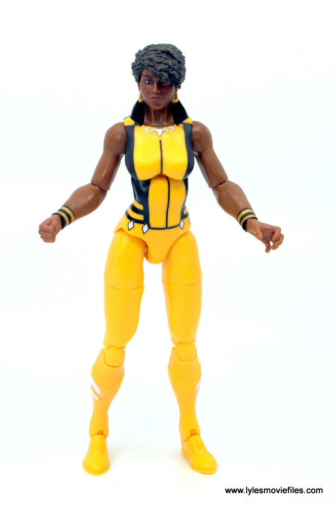 DC Multiverse Vixen figure review - arms out