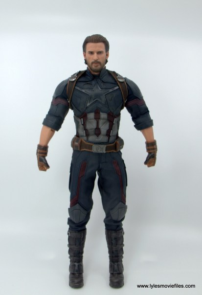 Hot Toys Avengers Infinity War Captain America figure review - front