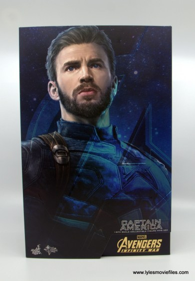 Hot Toys Avengers Infinity War Captain America figure review - package front
