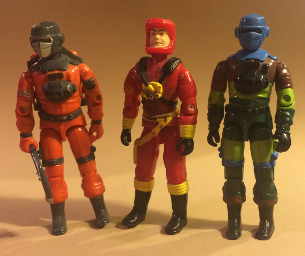 gi joe eco warriors barbecue - with other barbecue figures