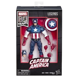 MARVEL LEGENDS SERIES 80TH ANNIVERSARY Figure - Captain America (in pck)