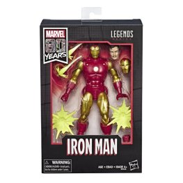 MARVEL LEGENDS SERIES 80TH ANNIVERSARY Figure - Iron Man (in pck)