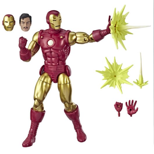 MARVEL LEGENDS SERIES 80TH ANNIVERSARY Figure - Iron Man (oop)