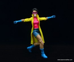 Marvel Legends Jubilee figure review - balancing act