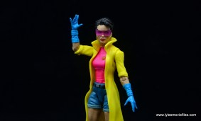 Marvel Legends Jubilee figure review - hand up