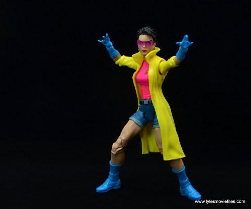 Marvel Legends Jubilee figure review - wide shot
