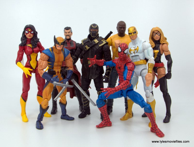 Marvel Legends Ronin figure review - with new avengers