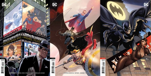dc comics reviews 5/15/19