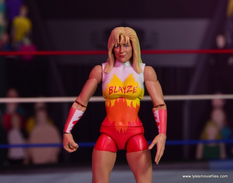 WWE Alundra Blayze figure review - main pic