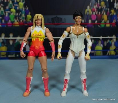 WWE Alundra Blayze figure review - with sherri