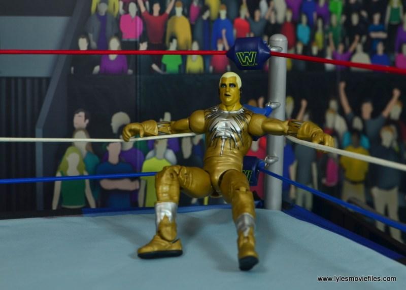 WWE Goldust figure review -in the corner