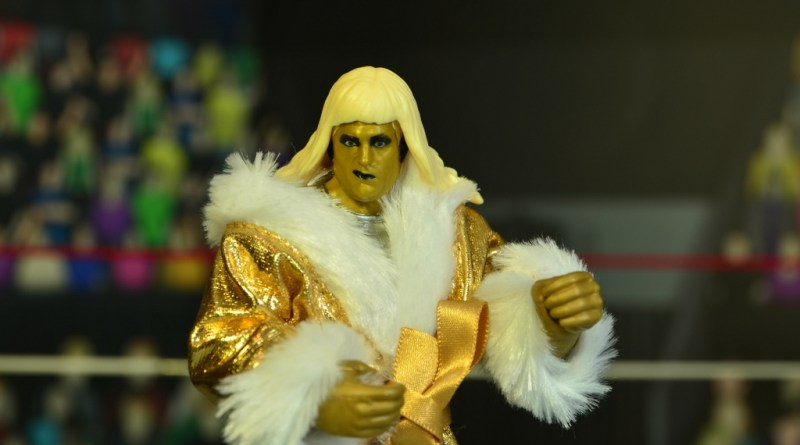 WWE Goldust figure review - main pic