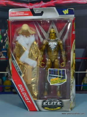 WWE Goldust figure review - package front